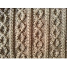 Factory Knit Fabric for Knitted Jacquard Baby Throw Blanket