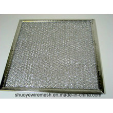 Alumínio / galvanização / aço inoxidável defletor filtro de graxa