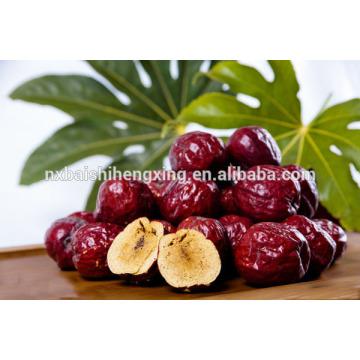 Jujube chinesische rote Datteln süße arabische Datteln