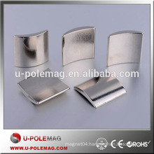 Excellent Quality N50 Motor Magnets Neodymium Arc Magnets