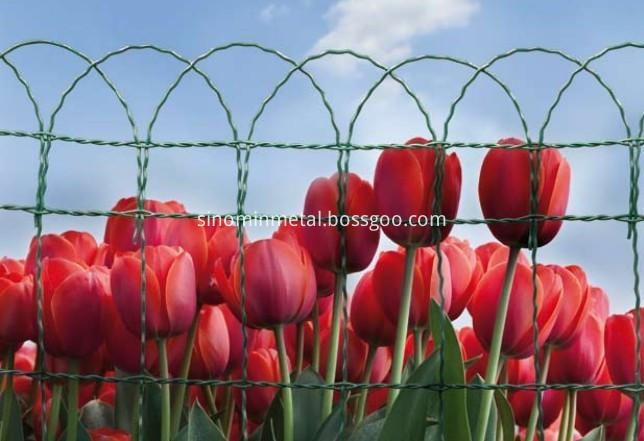 Border garden fence