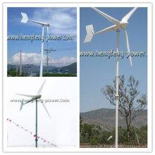 3kW Schule Familie verwenden lärmarm Windkraftanlage