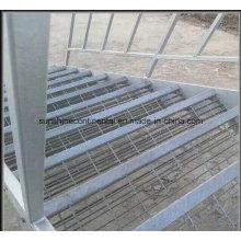 Qualitativ hochwertige verwendet industrielle verzinkte Stahltreppe