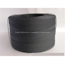 черный цветной бумажный шнур