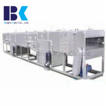 Stérilisation à basse température par pulvérisation comtinuous. Machine