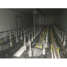 Équipement de peinture aérosol automatique pour produits en verre