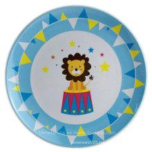 8inch Round Melamine Kids Plate