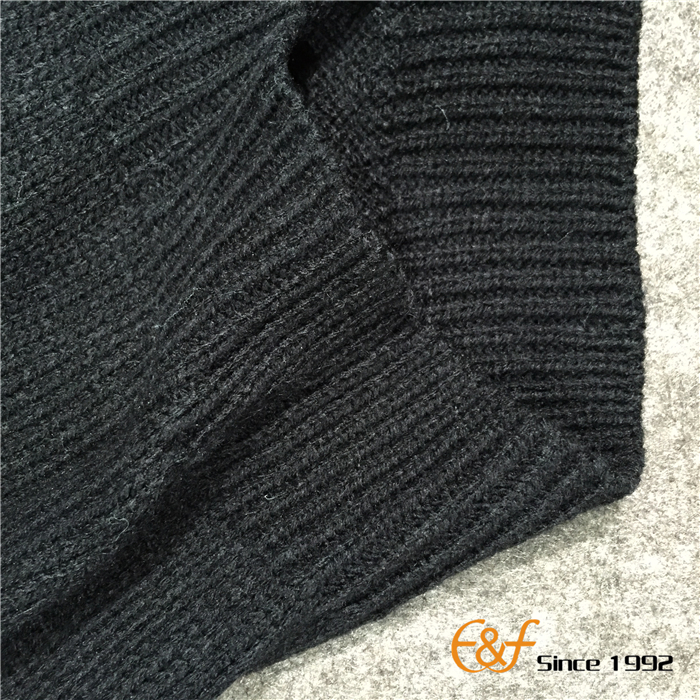 Fanny Sweater with Single Layer at Bottom