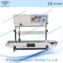High Speed Continuous Bag Sealer Machine