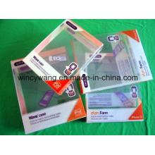 Boîte en plastique avec impression (HL-186)