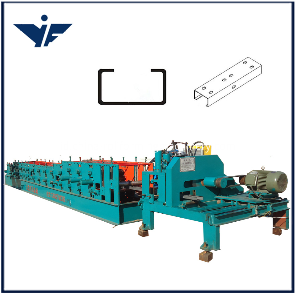 Fly Saw C Purlin Roll Forming Machine