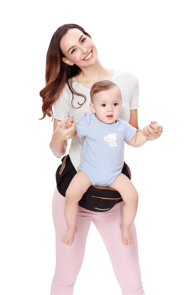 Lightweight Toddler Hip Carrier With Lumbar Support