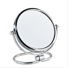 Espejo de lupa plegable de baño de vidrio plateado de regalo de 3 pulgadas y 6 pulgadas