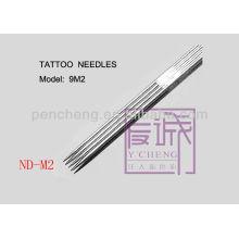 50 Pack Vorgefertigte Steril- und Einweg-Tattoo-Nadeln Auf Bar / Magnum-Nadeln