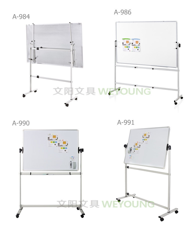 Magnetic Dry Erase with casters