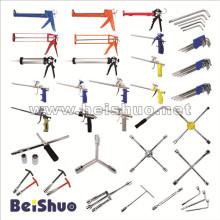 Ferramenta de mão de alta qualidade / conjunto de ferramentas / chave / pistola de calafe / arma de espuma