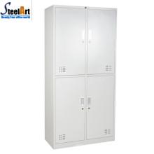 Latest design bedoom furniture steel almirah with good price