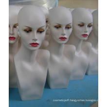 Fiberglass Mannequin Head GRP Wig Mannequin Head Display Mannequin Head