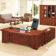 Mesa de oficina de diseño de mesa de oficina ejecutiva de madera de nogal SteelArt FEC2602
