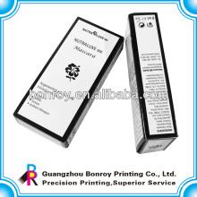 Caja de empaquetado de papel respetuosa del medio ambiente de encargo para el perfume con la impresión del logotipo