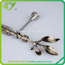 D-S0017 High quality low price twisted metal curtain rod
