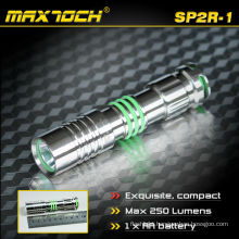 Maxtoch SP2R-1 Max 250 Lumens IPX7 Stainless Steel Portable Mini LED Small