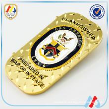 Специальная изготовленная на заказ монета золота сувенирная на продажу