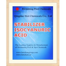 98.5% Стабилизатор Isocyanuric Кислоты (Стабилизированный Хлор) Номер 203-618-0