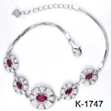 Nueva pulsera de plata de la joyería de la manera de los estilos 925 (K-1747. JPG)