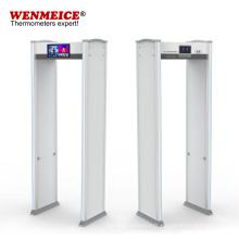 Porte métallique de sécurité de détection de température sans contact