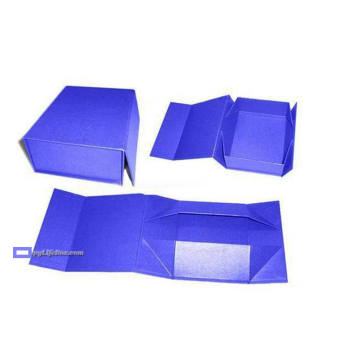 Gift/Shoes Folding Box with Magnet Clousure