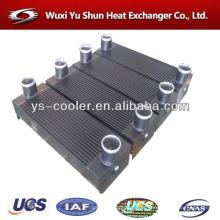 Fabricante de intercambiador de calor de aluminio refrigerado por agua fabricante