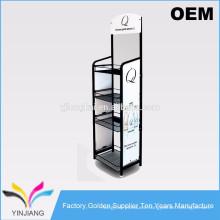 4 niveles de soporte de pie de diseño de rack de supermercado precio en rack