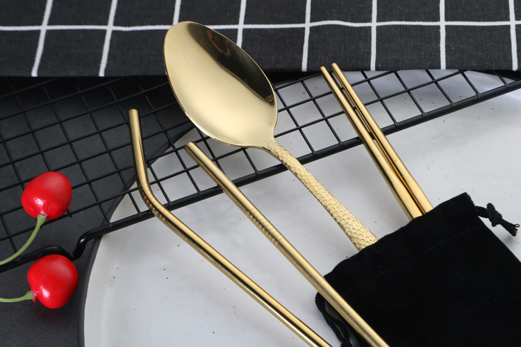 Stainless Steel Portable Cutlery Set