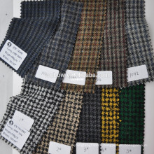 wholesale cheap fabric for out jacket wool polyester blend unique design