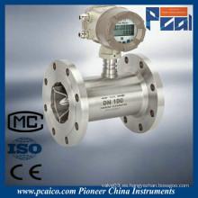LWGY Medidor de totalizador de flujo de aceite de turbina líquida