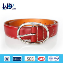 High quality genuine leather red belts