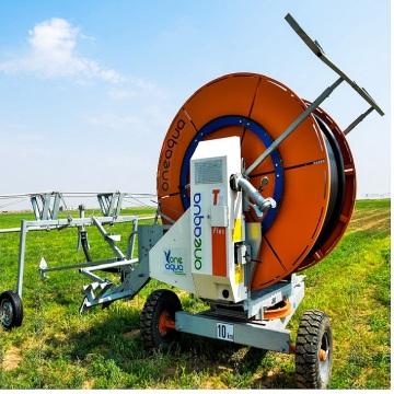 Garden hose reel irrigation machine walmart