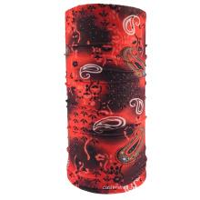 Wholesale custom multifunctional plain  printed headwear bandanafishing face bandana