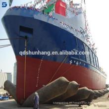 Airbag inflable flotante marino de Qingdao Factory Supplier para el lanzamiento de la nave