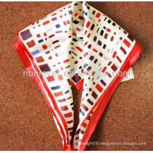 2013 fashion 100% silk lady scarf