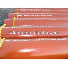 api 5l x52 / x42 / gr.b sch40 tubo de riego por goteo