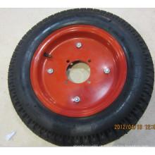 Roda de ar completa para serviço pesado 400-10