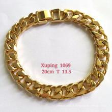 Bracelet-001 charme alliage de cuivre bijoux 18k plaqué or chaîne bracelet pour hommes