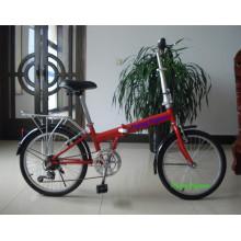 Bicicletas plegables populares de la ciudad 6SP (FP-FDB-D016)