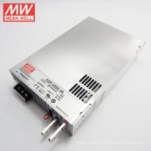 Fonte de Alimentação MW PFC 3000W 48V com Função Paralela RSP-3000-48