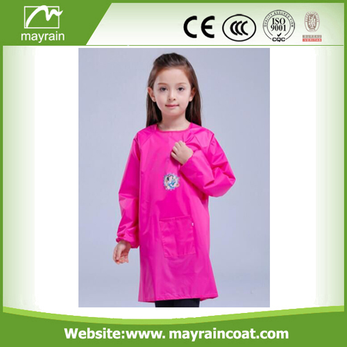 Long Sleeve Kids Polyester Smocks