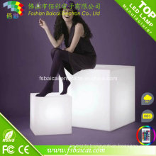 RGB Color Change Night Club, Party LED Cube, Waterproof LED Cube Chair Lighting
