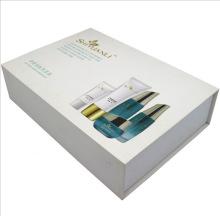 Caja cosmética rectangular con tapa de succión magnética de alto grado