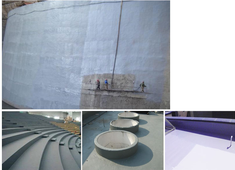 waterproofing compounds concrete
